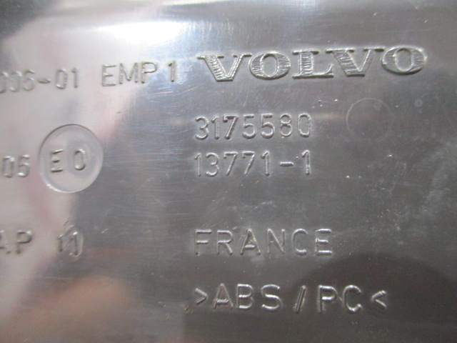Дефлектор на торпедо воздушный Volvo FH, FM