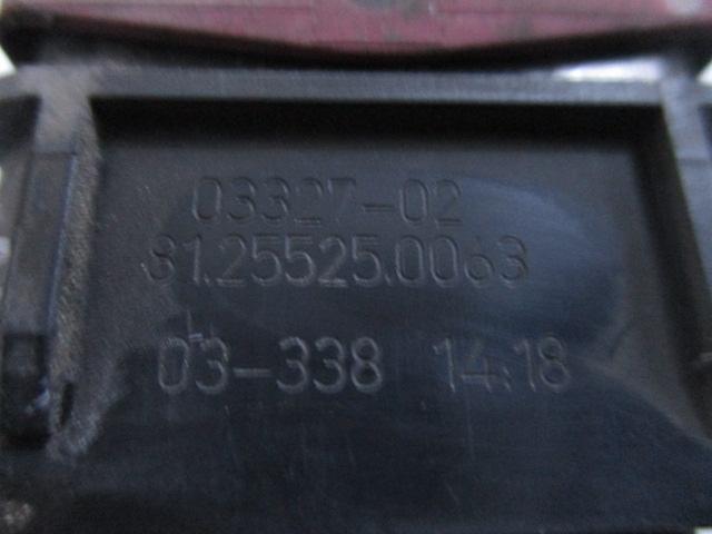 Кнопка аварийного сигнала MAN TGA TGX TGS