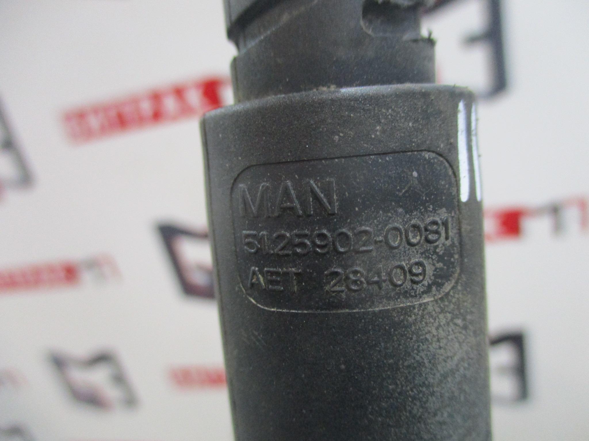 Клапан электромагнитный двигателя D2066 MAN TGX, TGS, TGA
